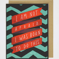 Born to Do This Card