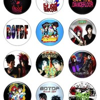 """Set of 12 New Blood on the Dance Floor 1.25"""" Pinback Button Badge Pin"""