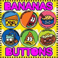 BANANAS BUTTONS SMALL 013