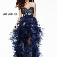 Sherri Hill 21158 Beaded Social Occasion Dress