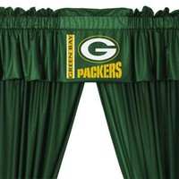 """Green Bay Packers NFL Valance (88""""x14"""")"""