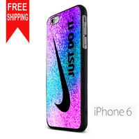 Nike Rainbow Glitter iPhone 6 Case