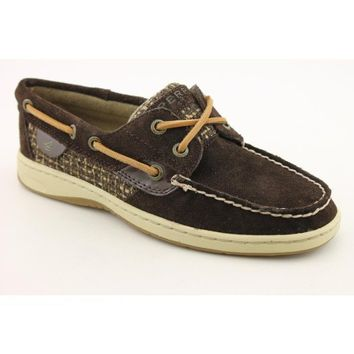 Sperry Top Sider Bluefish Boat Shoes Brown Womens