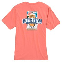 Southern Mix T-Shirt in Shell Pink by Southern Tide