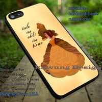 Belle Beauty and The Beast Disney iPhone 6s 6 6s+ 5c 5s Cases Samsung Galaxy s5 s6 Edge+ NOTE 5 4 3 #cartoon #disney #animated #BeautyAndTheBeast dt