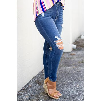 On The Next Level High Rise Jean