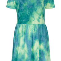Neon Tie Dye Mini Dress - Dresses - Clothing - Topshop USA