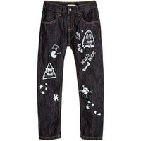 Billybandit - Boy Denim Pants Glow In The Dark