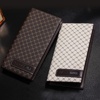 Business Men's Casual Long Leather Card Holder Wallet