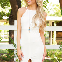 Rosamund Dress in White