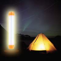 Tent Lantern Light Campsite 3 Modes Lamp SOS Outdoor Indoor Camping LED Light Rechargeable Portable Lampshade Stick