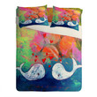 Sophia Buddenhagen I Whale Always Love You Sheet Set Lightweight