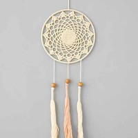 Plum & Bow Crochet Dreamcatcher - Ivory One