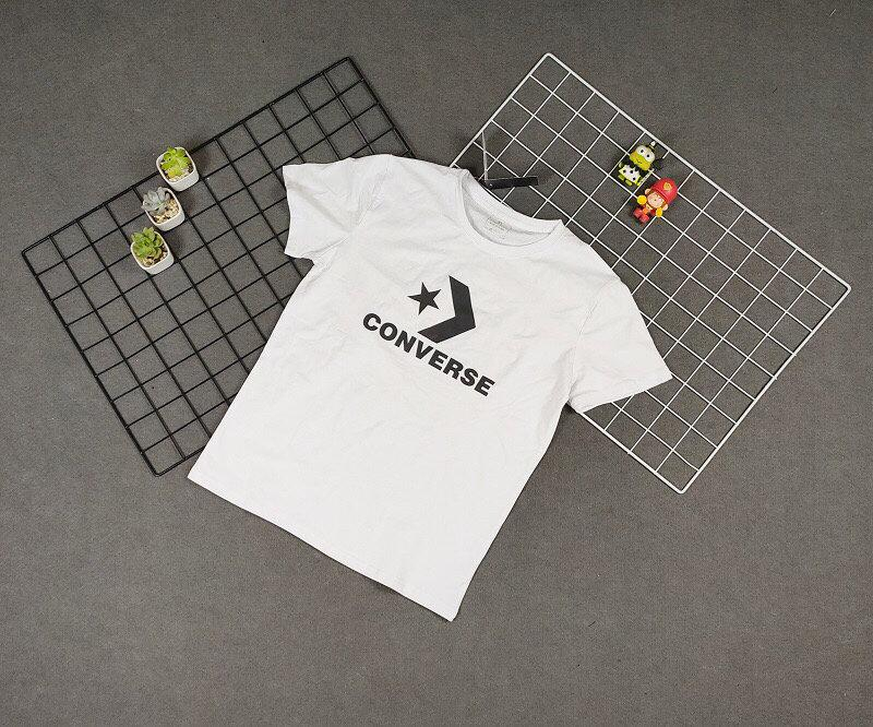 """Image of """"Converse"""" Unisex Sport Casual Letter Print Couple Short Sleeve T-shirt Top Tee"""