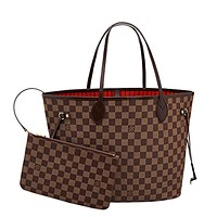 louis vuitton neverfull mm damier ebene bags handbags purse n41358 2