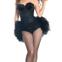 Deluxe Black Bird Costume