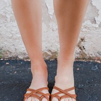 Shoreline Trips Sandal - Whiskey
