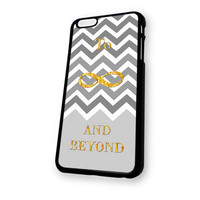 Chevron To infinity and beyound toy story quote iPhone 6 case