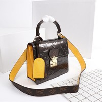 Louis Vuitton LV Women Fashion Shopping Cosmetic Bag Leather