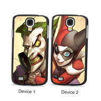 Joker And Harley Quinn Couples Phone Cases for Samsung Galaxy Cases