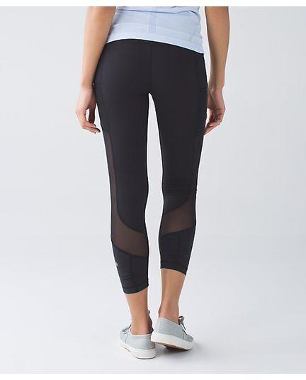 Image of Lululemon Solid Color Tight Stretch Gym Sport Pants Trousers Leggings Sweatpants