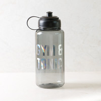 Gym and Tonic Gray Sports Water Bottle