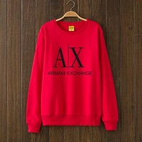 Armani Exchange Woman Men Top Sweater Pullover-1