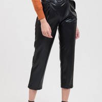 Leather Tapered Pant