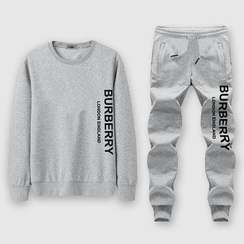 Balenciaga  Fashion Casual Top Sweater Pullover Pants Trousers Set Two-Piece