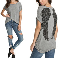 Summer Style Fashion Angel Wings