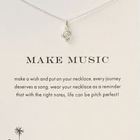 Dogeared Make Music Necklace