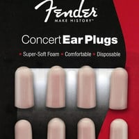 Fender Concert Series Foam Ear Plugs