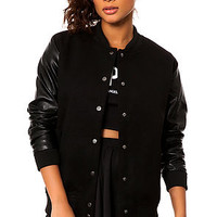 The Outsider Jacket in Black