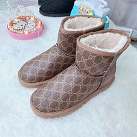 UGG GUCCI Children's snow boots shoes