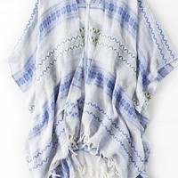 AEO Women's Textured Poncho