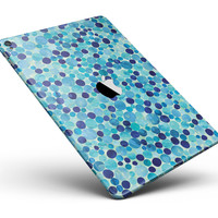 "Mixed Blue Watercolor Dots Full Body Skin for the iPad Pro (12.9"" or 9.7"" available)"