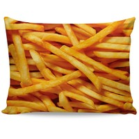 French Fries Pillow Case