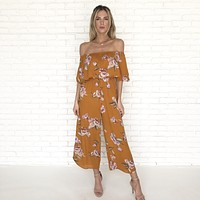 The Good Days Floral Jumpsuit