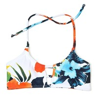Hibiscus Honey Mau Loa Bikini Top