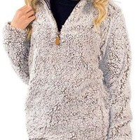 Pearl Sherpa Pullover