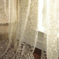 "Dian Austin Couture Home - ""Olivia"" Damask-Print Curtains - Horchow"