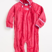 The North Face 'Buttery' Fleece Bunting (Baby Girls) | Nordstrom