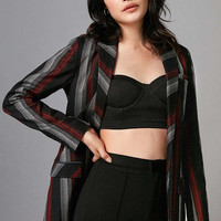 Volcom Stone Row Mad Hotter Striped Blazer | Urban Outfitters