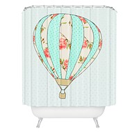 Allyson Johnson Fly Away With Me Shower Curtain