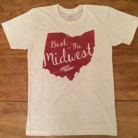 """OHIO """"Best In The Midwest Tee"""""""