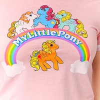My Little Pony Ringer Tee