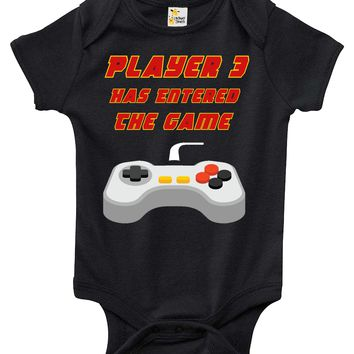 Baby Bodysuit - Player 3 Has Entered The Game