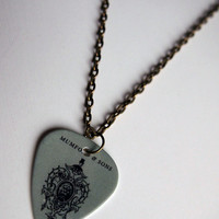 Guitar Pick Necklace: Mumford & Sons Necklace - Mumford and Sons Necklace - Mumford and Sons Gift -- Mumford and Sons Present