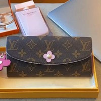 LV Presbyopia Women's Fold Long Wallet Bag