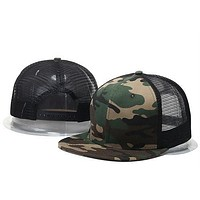 2017 New Fashion Blank mesh camo Snapback Hats Adjustable Gorras Hip Hop Casual Baseball Caps for Men Women bone Casquettes